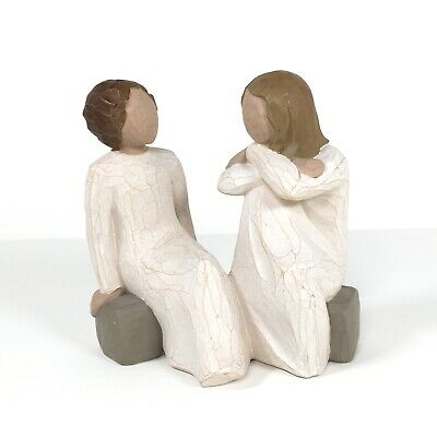 £20.80 • Buy Willow Tree Figurine Heart And Soul By Susan Lordi 2002 Demdaco Sisters Friends