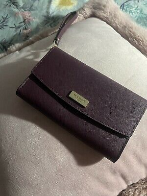 £17.99 • Buy Kate Spade Maroon Coloured Wallet And Phone Holder - Nearly New!!