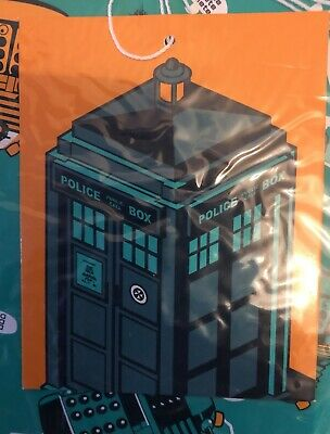 £1.95 • Buy Official BBC Doctor Who Giftwrap Set 2 X Paper 2 X Tags Unopened