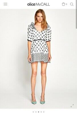 AU72 • Buy Alice McCall Size 8 Black And White Dress