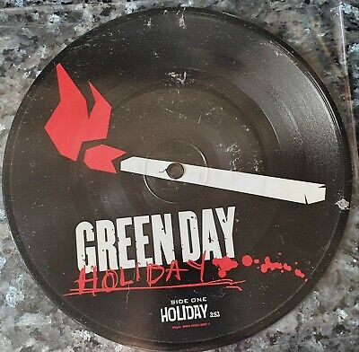 £10.70 • Buy GREEN DAY - Holiday - 7  Picture Vinyl - UNPLAYED + 7 Photo's + Stickers