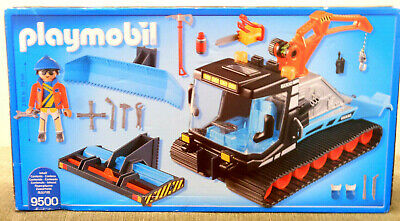 £9.99 • Buy PLAYMOBIL 9500 NEW Snow Plough With Rotating Crane, Scoop & Rollers + Tools