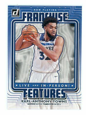 $ CDN7.47 • Buy 2020-21 Panini Donruss Karl-Anthony Towns FRANCHISE FEATURES NBA Card # 18