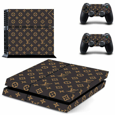 AU14.95 • Buy Playstation 4 PS4 Console Skin Decal Sticker LV +2 Controller Skin