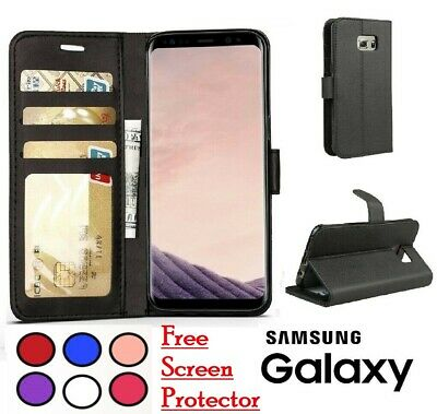 $ CDN5.13 • Buy Case For Samsung Galaxy S21 S20 S10 S9 Plus Cover Wallet Leather Magnetic Luxury