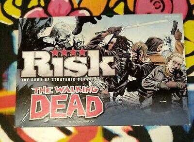 £10 • Buy The Walking Dead Game Of Risk/zombie/boardgame