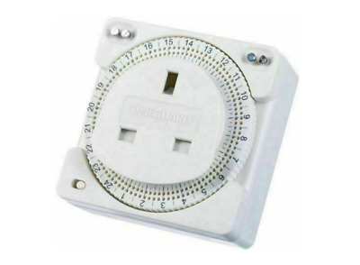 £9.99 • Buy Plug In Timer Compact 24 Hour Water Heater/Immersion Timer With Pins - Timeguard