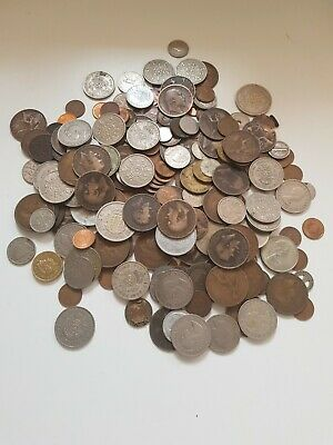 £9.99 • Buy Mixed Lot Of Old UK And Foreign Coins