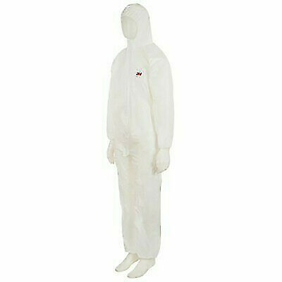 £14.90 • Buy 3M 4510 Protective Coverall Overalls Suit Paint Spraying Hooded Protection
