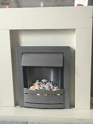 £57 • Buy Electric Fire And Surround Cream