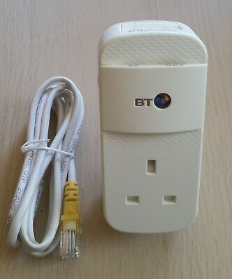 £19.95 • Buy 1 X BT Mini Connector Wired 2 Port Add-on Powerline Adapter
