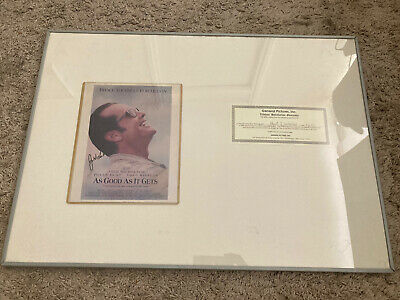 £89 • Buy Jack Nicholson And Helen Hunt Signed Autograph Photo COA 10x8 As Good As It Gets
