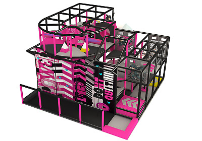 £40997.06 • Buy 550 Sqft Commercial Indoor Playground Interactive Soft Play Turnkey We Finance