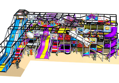 £110670.06 • Buy 3,500 Sqft Commercial Indoor Playground Interactive Soft Play Turnkey We Finance