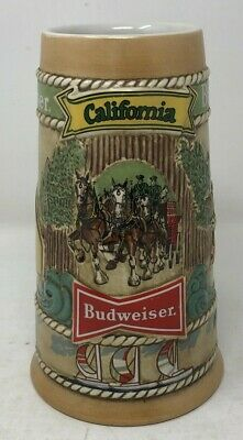 $ CDN19.90 • Buy Used Vintage 1981 Anheuser-Busch Budweiser California Limited Edition Beer Stein
