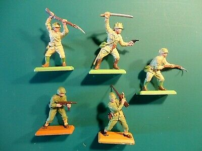 £15 • Buy Britains Deetail - US Marines & Japanese Toy Soldiers - EX+ Condition.