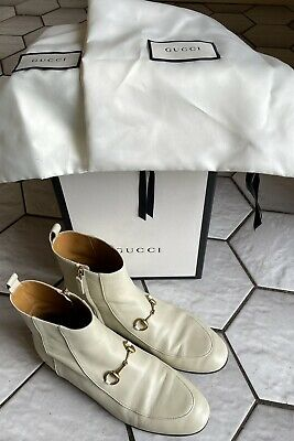 £350 • Buy Stunning Authentic Gucci Leather Ankle Boots