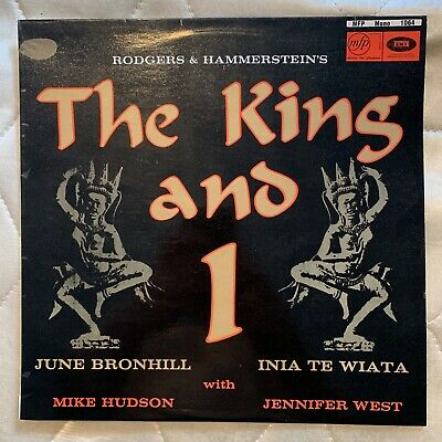 £5.49 • Buy THE KING AND I. Rodgers And Hammerstein June Bronhill. Inia Te Wiata. LP Record