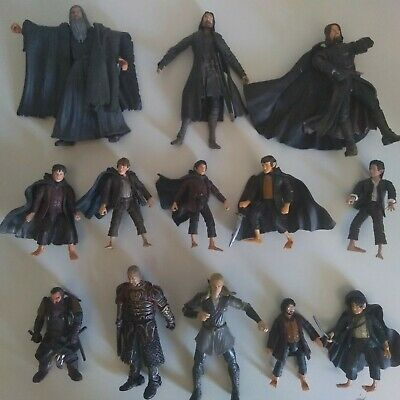 £10 • Buy Large Bundle Of The Lord Of The Rings 6  Scale Action Figures (with Accessories)