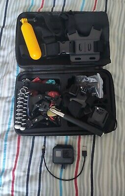 AU347.56 • Buy GoPro Hero 5 Black Action Camera With Huge Accessories Bundle Attachments Case.