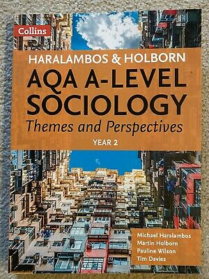 £20 • Buy AQA A Level Sociology Themes And Perspectives Year 2 9780008242787   Pre Owned