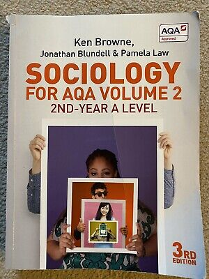 £15 • Buy Sociology For AQA Volume 2: 2nd-Year A Level By Pamela Law Book The Cheap Fast