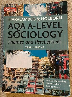 £10 • Buy Aqa A Level Sociology Themes And Perspectives Year 1 And AS
