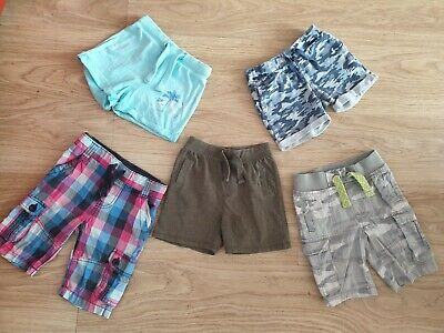 £1.50 • Buy Boys Shorts Bundle 2-3 Years Rebel Next Camouflage Checkered Good Condition