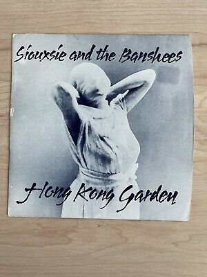 £10 • Buy Siouxsie And The Banshees - Hong Kong Garden  / Voices 45 Rpm