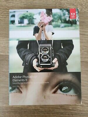 £30 • Buy Boxed Adobe Photoshop Elements 11 For Mac/ PC