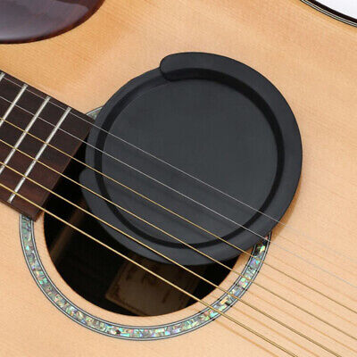 £4.76 • Buy Silicone Acoustic Guitar Feedback Buster Sound Hole Cover Buffer Block Stop *d