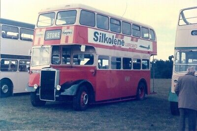 £0.35 • Buy Bus Photo Of A Potteries Photograph Picture Of A Pmt 466 Leyland Titian Neh466.