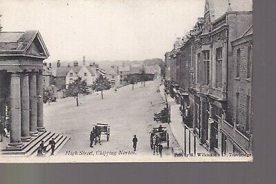 £1.99 • Buy High Street Chipping Norton - Old Unposted Postcard Town Hall Horse Cart