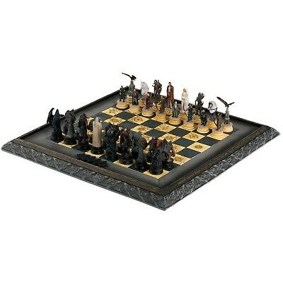 £149.99 • Buy Eaglemoss Lord Of The Rings Chess Set 2 Complete 32 Magazines 2 Binders