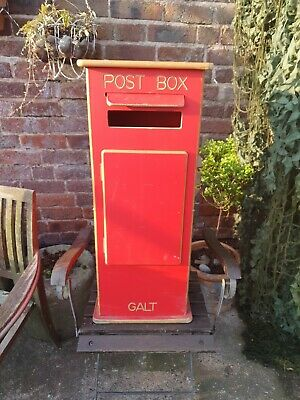 £85 • Buy Vintage Style Free Standing Red Letter Mail Post Box Good For Weddings Or Prop