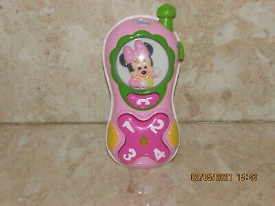 £4.99 • Buy Disney Baby Minnie Mouse Musical Phone Toy