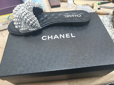 £360 • Buy Chanel Pearl Sandals 41 - New