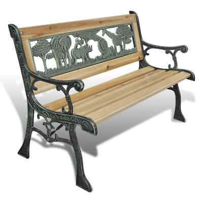£46 • Buy Garden Bench Wooden Park Seat Love Seat Patio Porch Seating Outdoor Furniture