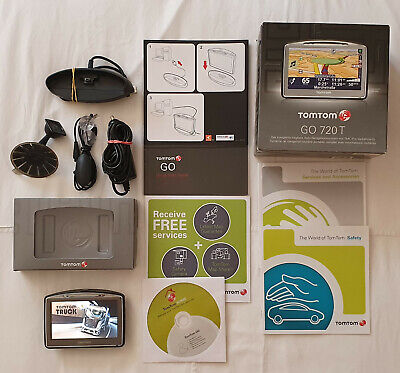 £111.70 • Buy Navigatore Tomtom Go 730t Ant. Traffic Europa Truck 2021 Camion Camper Autovelox