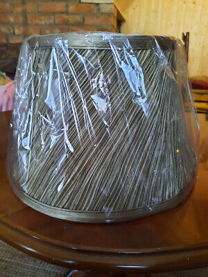 £10 • Buy GOLD TABLE LAMPSHADE Bnwt
