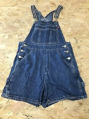 £8.99 • Buy Girls Dungarees Shorts Age 12 To 13 Years London London Blue Denim D1718