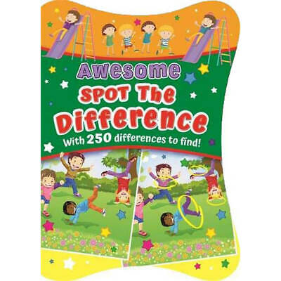 £4 • Buy Awesome Spot The Difference (Paperback), Books, Brand New