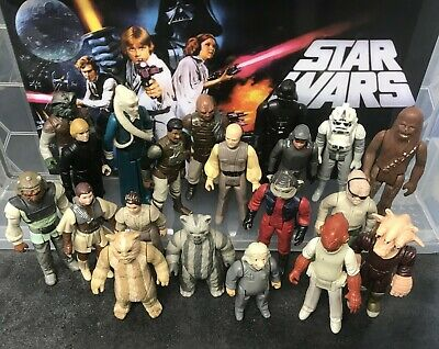 $ CDN55.01 • Buy Vintage Star Wars Figures - Bulk Lot - 21 All Different In Various Conditions