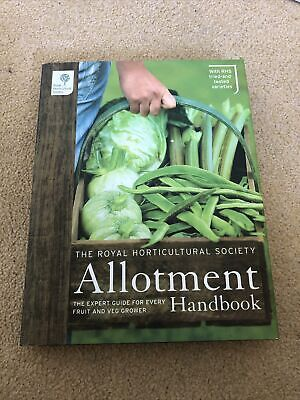 £0.99 • Buy The RHS Allotment Handbook: The Expert Guide For Every Fruit And Veg Grower...