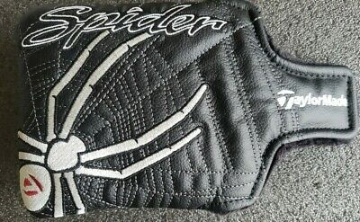£21.21 • Buy TaylorMade Spider X Putter Black Headcover Head Cover Used 100% Guaranteed VGC