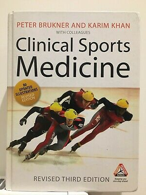 £15 • Buy Clinical Sports Medicine Third Revised Edition - Brukner & Khan