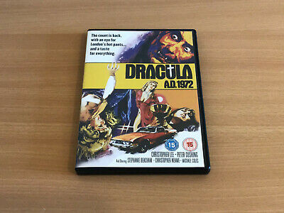 £2 • Buy Dvd Hammer Horror Dracula Ad 1972 With Christopher Lee