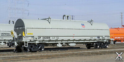 $ CDN55.42 • Buy Scale Trains 42' Coil Steel Car Union Pacific Up Ho New Rivet Counter Rare Gray