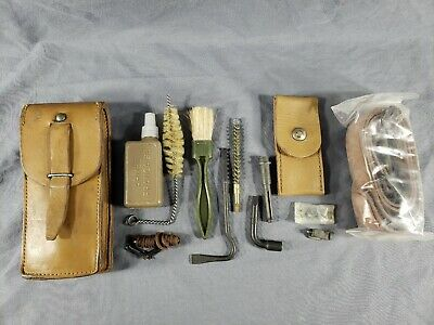 $70 • Buy Vtg Original French Military MAS 49/56 Rifle CLEANING/SPARE PARTS KIT Surplus