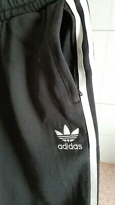 AU30 • Buy Adidas, Black And White 3/4 Track Pants, Size 38 10-12  Womens Trackies